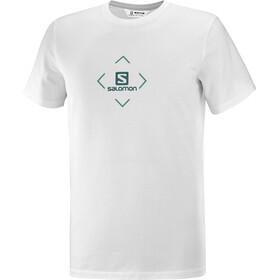 Salomon Bomuld SS T-shirt Herrer, hvid
